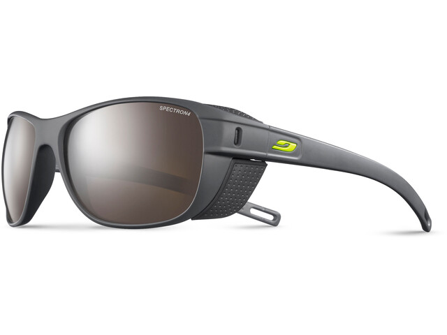 Julbo Camino Spectron 4 Sunglasses Dark Gray/Gray-Brown Flash Silver